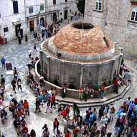 Big Onofrio's fountain in Dubrovnik, Croatia