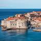 View of King's landing in Dubrovnik, Croatia