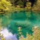 Beautiful Lakes and water at Plitvice Lakes National Park, Croatia
