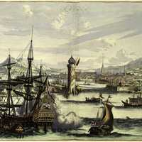 17th century depiction of Havana, Cuba