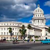 Capital building View in Havana, Cuba