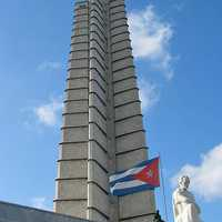 Memorial Jose Marti in the Revolutionary Plaza in Havana, Cuba