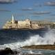 Morro Castle and Sea in Havana, Cuba