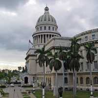 View of the Capital building in Havana, Cuba
