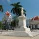 Marti Park and City Hall in Cienfuegos, Cuba