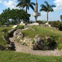 Trenches made by rebels in Cuba