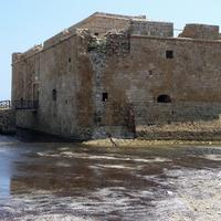 Fortress on the seaside in Paphos, Cyprus