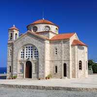 Greek Church building in Cyprus