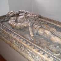 Vojtěch I of Pernstein's tomb in St. Bartholomew's Church in Pardubice, Czech Republic