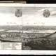 Prague panorama in 1650 black and white