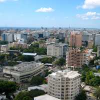 Santo Domingo City Downtown in the Dominican Republic