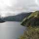 Crater Lake in Ecuador landscape