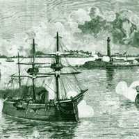 Bombardment by British Naval Forces in Alexandria, Egypt