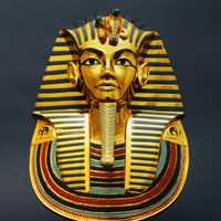 Egyptian Mask after death for Pharaohs