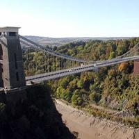 Brunel's Clifton Suspension Bridge in Bristol, England