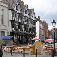 The Llandoger Trow, a historic Bristol Pub in England