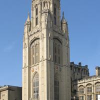 The Wills Memorial Building on Park Street in Bristol, England