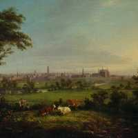 Leeds from the Meadows