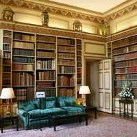 Library in Leeds Castle