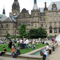Sheffield Town Hall in England
