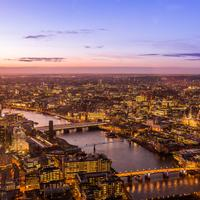 Overlook of the City of London