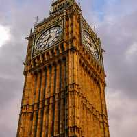 Elizabeth Clock Tower in London, England