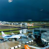 Gatwick airport in London, England