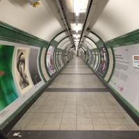 London Subway Tunnel Photo