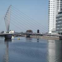 BBC Bridge at Salford, Great Manchester Area