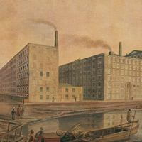 Manchester Cotton Mill in 1820