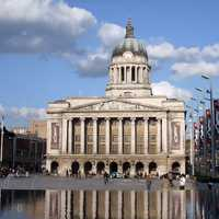Nottingham Council House in England