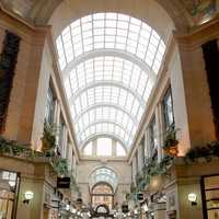 The Exchange Arcade inside the Council House in Nottingham, England