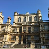 Wollaton Hall in Nottingham, England