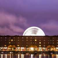 Albert Dock Building in Liverpool, England