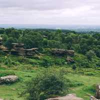 Brimham Rocks in Summerbridge, England