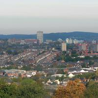 Panorama of Sheffield, England