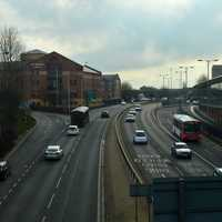 Wolverhampton's Ring Road in England