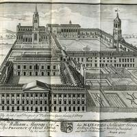 Engraving of Christ Church 1742