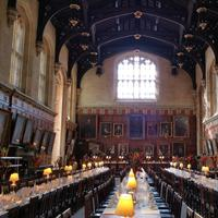 Inside Christ Church at Oxford
