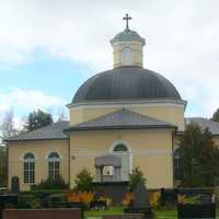 Church Building in Kurikka, Finland