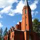 Church of Saari in Parikkala, Finland