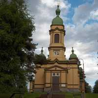 Church of Saint Prophet Elijah in Ilomantsi, Finland