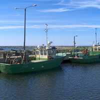 Fishing boats in Marjaniemi, Hailuoto, Finland