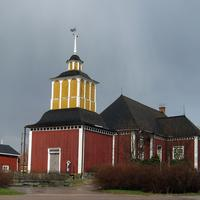 Karvia Church Building in Finland