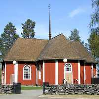 Kiiminki Church building in Finland