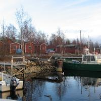 Kiviniemi fishing village in Haukipudas, Finland