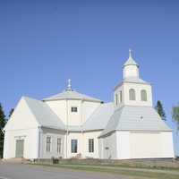 Myrskylä Church white building in Finland