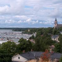 Naantali old town and harbour in Naantali, Finland