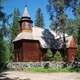 Pihlajavesi wilderness church in Keuruu, Finland