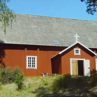Saint Bridget Church in Loppi, Finland